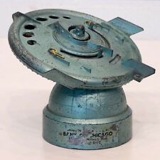 1950's Vintage UFO FLYING SAUCER Metal SPACE-AGE MECHANICAL BANK by DURO MOLD