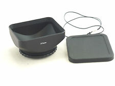 Camcorder 37mm DV Lens Hood, Lens Cap and Cap Keeper for Sony , Canon, Panasonic