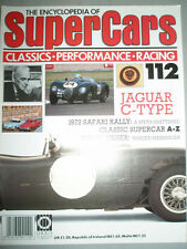 Encyclopedia of Super Cars 112 Jaguar C Type