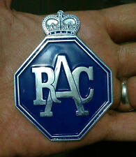 RACQ Australia Royal Automobile Club Queensland Car Badge RAC VESPA LAMBRETTA