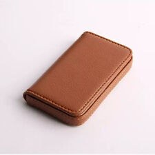 Fashion Mini Luxury PU Leather Business Name Card Holder ID Case Bag Wallet