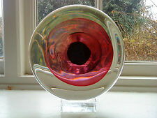 Italian Murano Art Glass Bulls eye Oggetti ? Orb by Livio Seguso