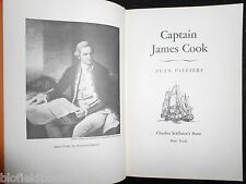 Captain James Cook by Alan Villiers - 1967-1st - Maritime Explorer Biography
