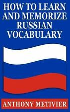 How to Learn and Memorize Russian Vocabulary : ... Using a Memory Palace...