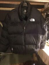 The North Face Mens Nuptse 700 Goose Down Jacket Caballeros Grande Negro