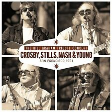 CROSBY STILLS NASH & YOUNG Bill Graham Tribute Concert CD Live 1991 NEW .cp