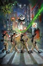GHOSTBUSTERS MOVIE ABBEY ROAD ART IMAGE A4 Poster Gloss Print Laminated  (New)