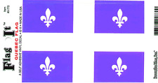 QUEBEC FLAG LAMINATED CAR SELF ADHESIVE VINYL DECAL STICKER NEW