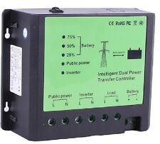 4500W 12V, 220-240V  Automatic Transfer Switch Control solar energy- network