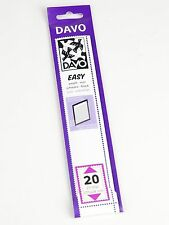DAVO EASY BLACK STROKEN MOUNTS  Z20 (215 x 24)  25 STK/PCS