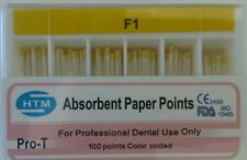 Absorbent Paper Points Protaper Dentsply Style F1 Color Coded Dental Endo HTM