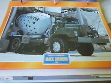 Super Trucks Baustellen LKW USA Mack DMM600, 1987