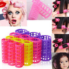 DGUS 12 PCS Curler Roller Large Grip Cling Hair Styling Curler Hairdressing Tool