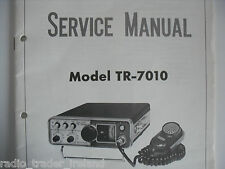 KENWOOD (TRIO) TR-7010 (SERVICE MANUAL ONLY)............RADIO_TRADER_IRELAND.