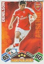 DENILSON # BRAZIL ARSENAL.FC SAO PAULO.FC CARD PREMIER LEAGUE 2010 TOPPS