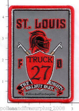 Missouri - St Louis Truck 27 MO Fire Dept Patch  The Knights  Walnut Parck