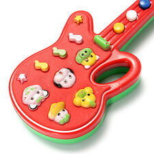 Educational Toddler Baby Electronic Guitar Toy Sound Music Play Kids Hand Holder