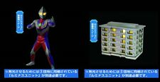 Bandai Ultraman Tiga Building Light Scene Imagination Gashapon Figure