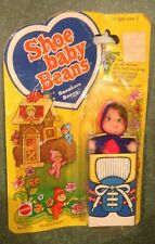 "Shoe Baby Beans Doll ""SNEAKERS Beans"" 1978 Mattel, Mint In Box MIB Vintage 70's!"