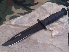 "Survivor Fixed Blade Hunting Neck Knife Combat 7.5"" 1/2 Serrated Survival 1023DP"