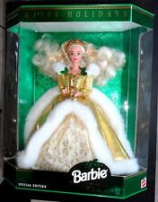 BARBIE HOLIDAY HAPPY HOLIDAYS 1994 serie MAGIA DELLE FESTE NRFB NUOVA PERFETTA