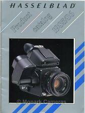 Hasselblad Brochure 1985/6 500 C/M ELX EL/M 2000 FCW & FC/M plus F & CF Lenses