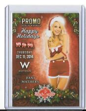 2014 BENCHWARMER TOYS FOR TOTS PROMO DANI MATHERS 2015 PLAYBOY PLAYMATE OF YEAR