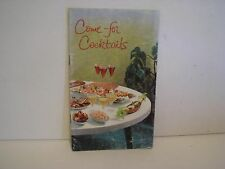 1958 Taylor Wine Come for Cocktails Recipe Drink Party Mixer Book  Booklet 16 PG