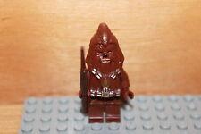 Lego Star Wars - Wookiee Figur mit Speer Ewok Village aus Set 7260, 7258