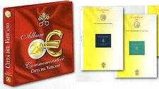 Offerta  2 Album + fogli per i 2 euro  Vaticano 2004-2016