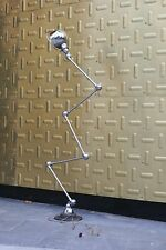 JIELDE FRENCH INDUSTRIAL FLOOR LAMP 5 ARMS POLISHED MIRROR