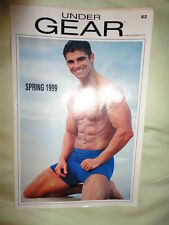 UNDERGEAR Men's Underwear CATALOG Spring 1999 SEXY MALE MODELS!!! Good Condition