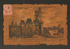 VIEUX PARIS / TOUR & PORTE-NEUVE en 1585 prés du VIEUX LOUVRE