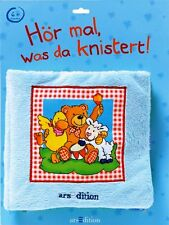 Hör mal, was da knistert! ** Spielbuch, Stoffbuch ** 6+ Monate ** arsEdition