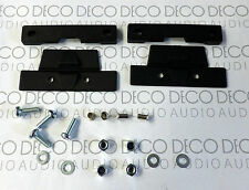Rega Turntable Dustcover Hinges Set. Easy fit kit! Includes Nuts & Bolts. DECO
