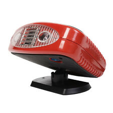 New 12 Volt DC Auto Portable Heater Fan Defroster with Light Electric Car Heater