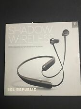 Sol Republic Shadow Wireless In-ear Bluetooth Headphones BLACK