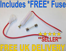 30mm Glass Fuse Holder Inline In Line 12V Classic Car Auto Caravan Marine Van