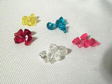 LEGO Diamond Jewel Crystals Pink Red Blue Clear Yellow 4 each (20 Total) *NEW*