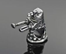 Robot Charm Bead Stainless Steel Fits European Charm Bracelets