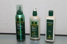 Lot of 3 Rene Furterer finishing rinse soft hold normale Mousse