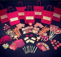 PERSONALISED HEN PARTY FAVOUR FILLED GIFT BAG -CREATE YOUR OWN CHOOSE 5 ITEMS