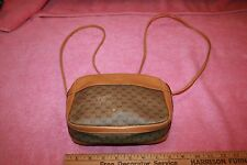Vintage Tan Yellow Leather Gucci Baguette Hand Bag