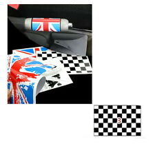 Checkered  Handbrake Sticker Decor For MINI Cooper S Clubman Countryman