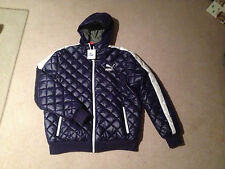 Puma ME Archive Padded Jacket Medieval Blue Size XL NWT RARE
