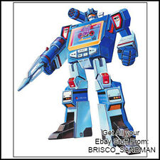 Fridge Fun Refrigerator Magnet TRANSFORMERS: SOUNDWAVE G1 Box Art 1984