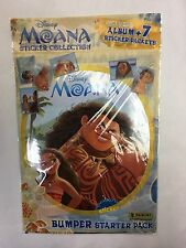 Panini Disney MOANA Sticker Album Starter Pack FREE 42 STICKERS Bumper MOVIE 16