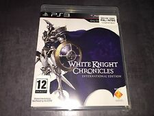 PS3 : white knight chronicles  (NEUF SOUS BLISTER)