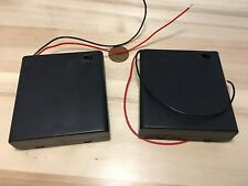 2 Pieces ON OFF 4AA Switch Battery Holder Box Case 4 x 1.5V AA Batteries B19