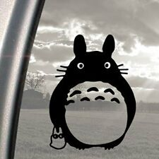 TOTORO GHIBLI LUPUTA ANIME STICKER BLACK WINDOW  CAR VAN 4X4 LAPTOP  WALL